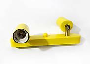 Спот поворотний на 2-лампи SLEEVE-2 E27 жовтий, фото 6