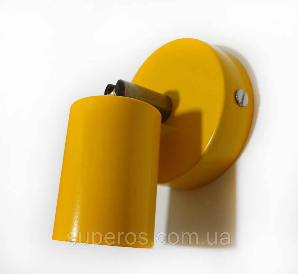 Спот поворотний на 1-лампу SLEEVE E27 помаранчевий