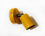 Спот поворотний на 1-лампу SLEEVE E27 помаранчевий, фото 3