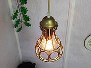 Підвісна люстра на 5 ламп RINGS-5G E27 на круглій основі, золото, фото 8