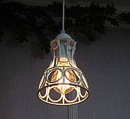 Подвесная люстра на 5-ламп RINGS-5G E27 на круглой основе, белый, фото 4