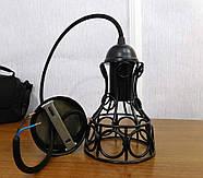 Підвісний світильник RINGS E27 чорний, фото 8