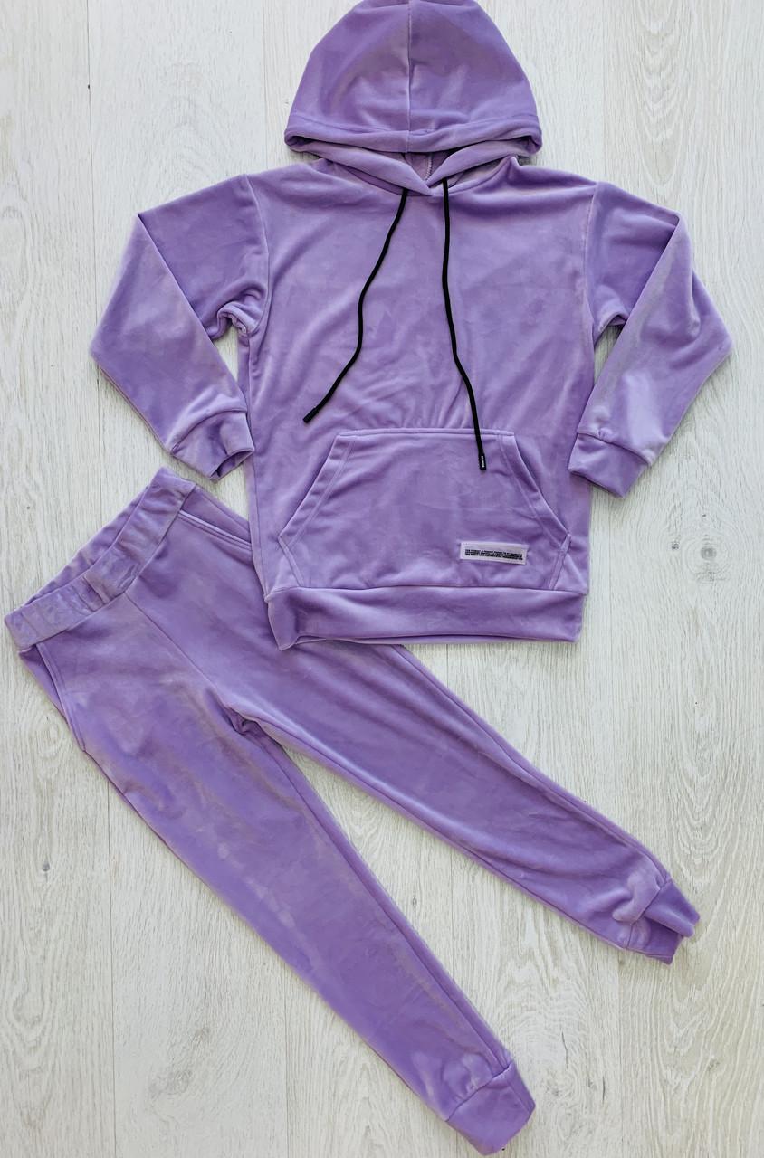 Велюровый костюм для девочки, Kristy style, арт. 2952, 152-158 см