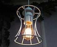Подвесная люстра на 5-ламп SANDBOX-5G E27 на круглой основе, белый, фото 2