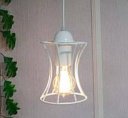Подвесная люстра на 5-ламп SANDBOX-5G E27 на круглой основе, белый, фото 4