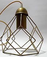 Подвесная люстра на 4-лампы RUBY-4 E27 золото, фото 6