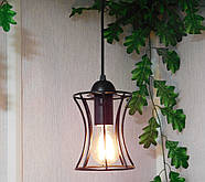 Підвісна люстра на 4-лампи SANDBOX-4 E27 чорний, фото 5