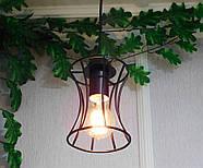 Підвісна люстра на 4-лампи SANDBOX-4 E27 чорний, фото 7
