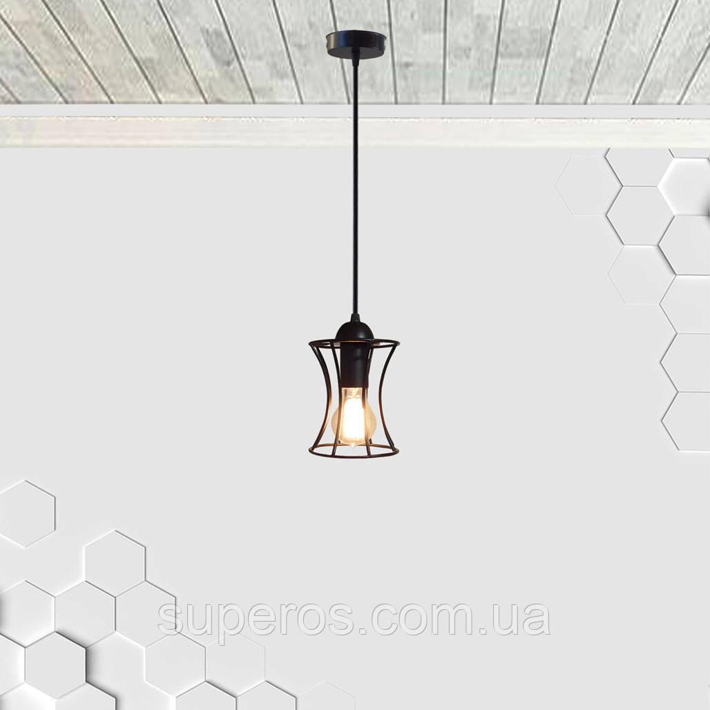Подвесной светильник SANDBOX E27 чёрный