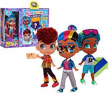 Набор-сюрприз Hairdorables мальчик и девочка Noah | Набор 2 куклы He and She Хэрдораблс