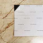 Самоклеюча плитка благородний мармур, ціна за 1м2 (мін. замовлення 5м2), фото 4
