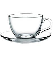 Набор чашек с блюдцем для чая (6 шт.) 215 мл Basic 97948