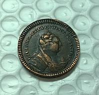 1 копейка 1755 Елизавета №412 копия
