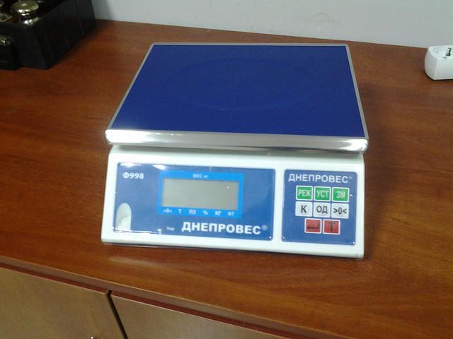 фасовочные весы Днепровес Ф998