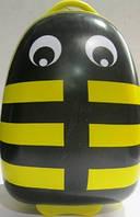 """Детский чемодан на колесиках  """"Пчелка""""(желтый)"""