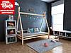 Дитяче ліжко-будиночок (вігвам) Моана плюс 90*190 (масив вільхи)