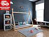 Дитяче ліжко-будиночок (вігвам) Моана 90*190 (масив вільхи)