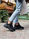 Женские кроссовки Balenciaga Triple S black, фото 3