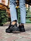 Жіночі кросівки Balenciaga Triple S black, фото 5