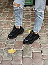 Жіночі кросівки Balenciaga Triple S black, фото 7