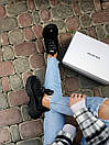 Жіночі кросівки Balenciaga Triple S black, фото 8