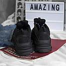 Чоловічі кросівки Balenciaga Triple S black, фото 2
