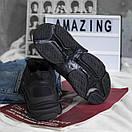Чоловічі кросівки Balenciaga Triple S black, фото 4
