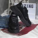 Чоловічі кросівки Balenciaga Triple S black, фото 5