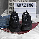 Чоловічі кросівки Balenciaga Triple S black, фото 6