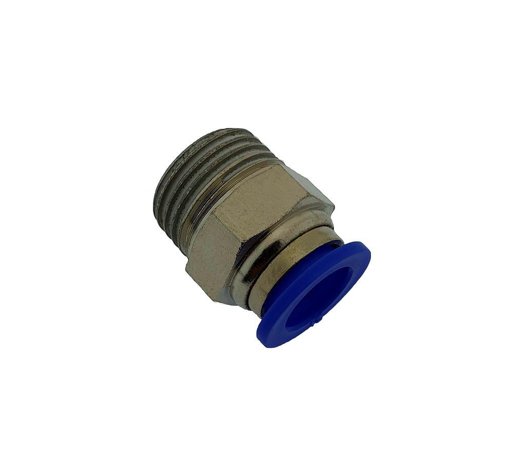 Пуш фитинг 10 мм. ½ дюйма наружная резьба