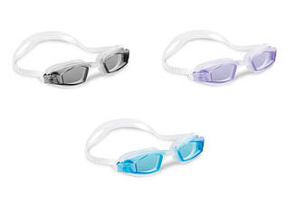 Окуляри для плавання INTEX Спорт гіпоалергені полівиніл захист від УФ-променів 55682
