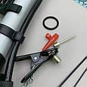 Насос ручной пластиковый для велосипеда, фото 4