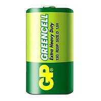 Батарейка GP Greencell, 13G, R20 (1шт)