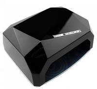 LED+CCFL Лампа для гель-лаков и для геля, сенсор 36 Вт, черная с таймером