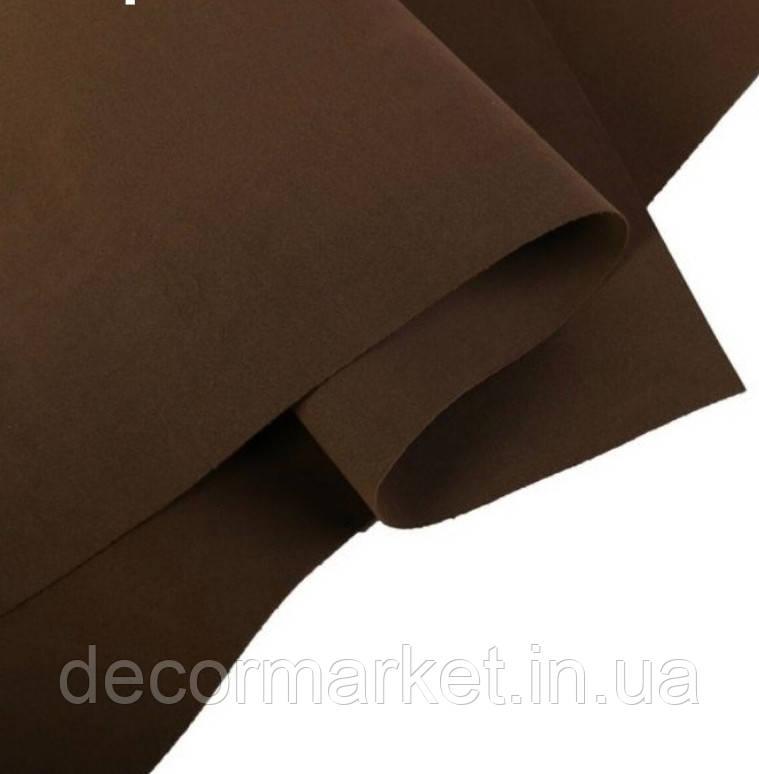 Фоамиран 1мм иранский шоколад 70х60см
