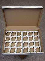 Коробки на 24 кекса 475х321х90