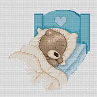 Набор для вышивки крестом Luca-S B1024 Медвежонок Бруно