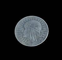 5 злотых 1932 г. Польша, королева Ядвига, копия в серебре №524 копия