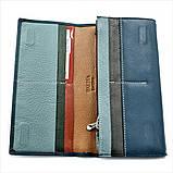 Женский кожаный кошелек Weatro 583-B149-2 Синий, фото 4
