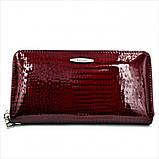 Женский кожаный кошелек Weatro 569-B78-1 Марсала, фото 2