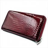 Женский кожаный кошелек Weatro 569-B78-1 Марсала, фото 3