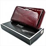 Женский кожаный кошелек Weatro 569-B78-1 Марсала, фото 6