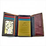 Жіночий шкіряний гаманець Weatro 09-KW77-3 Коричневий, фото 2