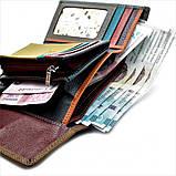 Жіночий шкіряний гаманець Weatro 09-KW77-3 Коричневий, фото 3