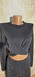 Стильный молодежный костюм-двойка ,,Мерцание,, .Размеры S,M,L., фото 6