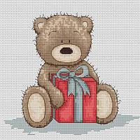 Набор для вышивки крестом Luca-S B1099 Медвежонок Бруно