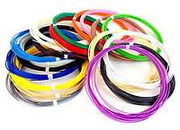 Набір PLA Пластику для 3D ручок 20 кольорів за 10 метрів (4_00540)
