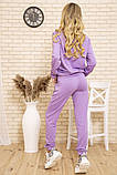 Спорт костюм женский 102R168 цвет Сиреневый 54-56, фото 3