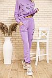 Спорт костюм женский 102R168 цвет Сиреневый 54-56, фото 5