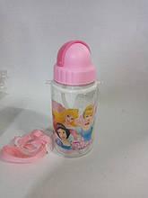 Бутылка для воды Принцессы 380 мл.